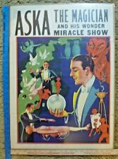 Vintage Aska the Magician Poster Original Shrunk Wrapped