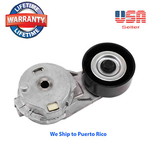 Serpentine Belt Tensioner with Pulley for Buick Chevy Hummer Saab Isuzu 12573024