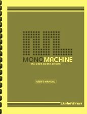 Elektron Monomachine SFX-60 SFX-6 MKII User's Manual