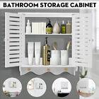 Bathroom Wall Cabinet Over The Toilet Storage Bath Organizer Rack Shelf Holder