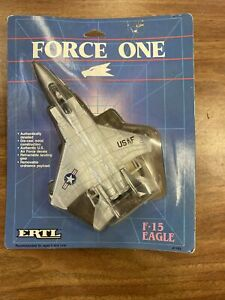 1989 ERTL Force One F-15 Eagle Model Plane Die Cast Metal