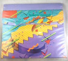 TRAPPER KEEPER 1992 Mead Pastel Purple Geometric Designer Series Milano Binder