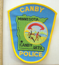 CANBY MINNESOTA  POLICE  FABRIC PATCH