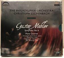 Gustav Mahler Symphony No. 6 Philadelphia Orchestra SACD signed by Eschenbach