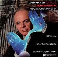 Strauss-quindi vocale Zarathustra Don Giovanni ROSE gentiluomo suite Lorin Maazel SOBR