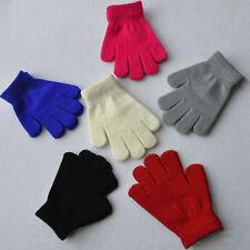 Femme Homme Unisexe Gants Filles Garçons Enfant Laine gants chauds Hiver Moufles