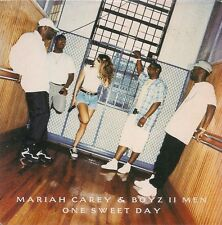 CD 2 TITRES--MARIAH CAREY & BOYZ II MEN--ONE SWEET DAY