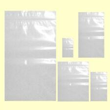 1000 BOLSAS PLASTICO GRIP AUTOCIERRE 10 X 15 cm HERMETICO TRANSPARENTES