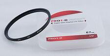 JYC 67mm UV Ultra Violet Filter Lens Protector for Canon Nikon Sony DSLR Camera
