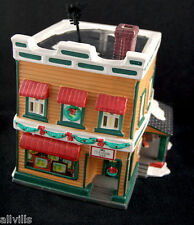 Al's TV Shop #54232 Dept 56 Snow Village Issued 1992 Mid Century Classic look