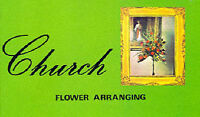 Church Flower Arranging by Mark Weston Paperback Book The Cheap Fast Free Post
