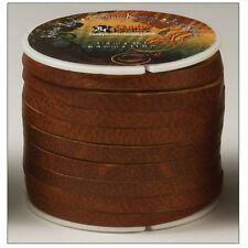 """Kodiak Lace 1/4"""" x 36 ft. (6.4 mm x 11 M) Tan by Tandy Leather # 5076-03"""