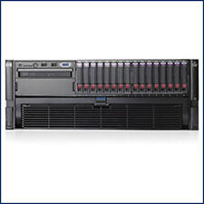 HP Proliant DL580 G5 MP 4x2.93GHz Quad Core 16 GB Server Loaded