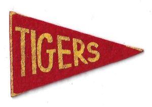 Detroit Tigers Baseball Mini Pennant Felt Vintage Antique 1930s