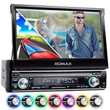 AUTORADIO MIT NAVIGATION GPS NAVI TOUCHSCREEN BILDSCHIRM BLUETOOTH USB SD 1DIN