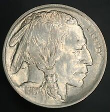 1913-P Type 1 Buffalo Nickel 5C Solid Gem With Great Luster & Full Strike! GC431