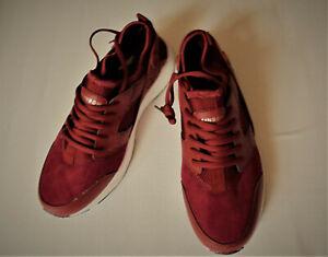 Sneaker Gr.41 Weite G,rot RAINBOW,Stretch,Schnürung,weiße Sohle rutschfest,neu