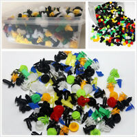 500Pcs Mixed Fastener Car Door Engine Cover Bumper Rivet Push Pin Retainer Clips