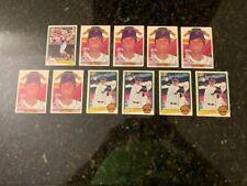 CARL YASTRZEMSKI 1982-83 DONRUSS BASEBALL COLLECTION......11 TOTAL CARDS!