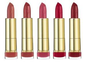 Max Factor - Colour Elixir Lipstick - CHOOSE COLOUR Moisturising Lip Shade NEW
