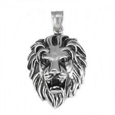 Anhänger Kettenanhänger aus Edelstahl 316 Löwe Löwenkopf