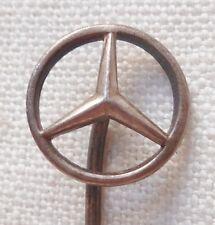 Insigne épinglette Automobile MERCEDES BENZ 1930/40 ORIGINAL ALLEMAGNE WWII