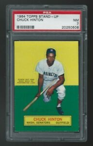 1964 Topps Stand-Up Chuck Hinton PSA 7