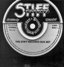 STIFF RECORDS.COMPLETE 4CD/BOOK/BOX SET.80S PUNK/ROCK.NICK LOWE,ELVIS COSTELLO +