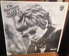 SCOTT WALKER the romantic scott walker 1969 UK PHILIPS STEREO VINYL LP