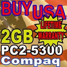 2GB Compaq Presario CQ60-422DX F750US F755US MEMORY RAM