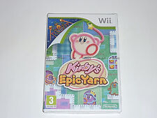 Kirby's Epic Yarn for Nintendo Wii  Brand New Factory Sealed  UK PAL GAME