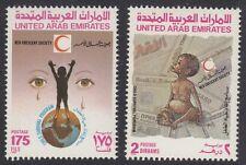 UAE : 1990 Child Survival Programme set SG 310-1 MNH