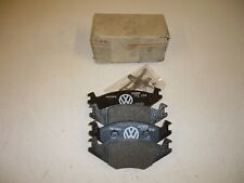 Front brake pads VW Golf and Jetta MK2 191698151E for solid discs New genuine VW