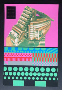 Eduardo Paolozzi,limited edition screenprint,1967