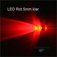 LED Blau 5mm Klar Widerstand 9V 12V 14V 16V 24V NEUWARE C2733