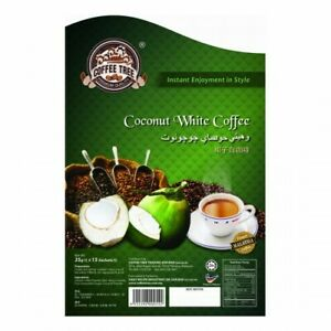NEW!! COFFEE TREE PREMIUM COFFEE 38g x 15's Coconut White Coffee