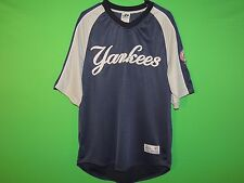 VTG New York Yankees Dynasty Men's Size L Large MLB Baseball Jersey / T Shirt