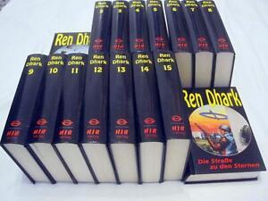 REN DHARK Bd. 1 - 16  Sternendschungel komplett SF Romane gebunden HJB Verlag