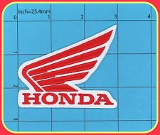HONDA BIKE patch racing TOP QUALITY EMBROIDERY Uniform LOGO WINGS Racing Iron on