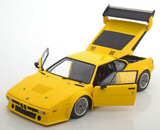 Minichamps BMW M1 E26 Procar Plain Body Version 1979 Yellow 1/18 LE of 300 New!