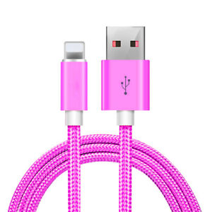 3 Pack 3/6/10FT USB Cable For iPhone 6 7 8 Plus iPhone X XR XS 8Pin Charger Cord