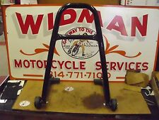 BIKE JACK MOTORCYCLE STAND/LIFT, BLACK, USED, MADE IN USA, UNIV.FIT MOST M/C'S.#