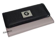 G BY GUESS Damen Geldbörse Portemonnaie Wallet Organizer Schwarz 19 x 11 cm Neu