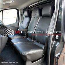 Opel Vivaro Sportive Similpelle Impermeabile Resistente Copri Sedili Anteriori