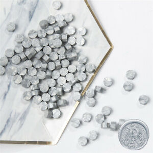 20Pcs silver Retro Stamping Sealing Beads Wax Stamps Envelopes Party Invitation