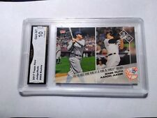 Aaron Judge RC Babe Ruth 2017 Topps Now #669 GMA Graded 10 Baseball Rookie SP LE