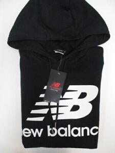 New Balance Essentials Stacked Logo Po Hoodie Mens SIZE M REF CN348 R