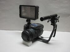Pro D5400 AZ SM-2L HD stereo mic video light for Nikon D5600 D5500 D5300 D5200