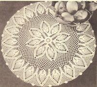 "Vintage Crochet PATTERN to make Pansy Doll Pin Cushion Dress Hat 8/"" DorPansy"