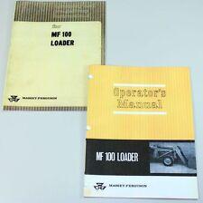 Massey Ferguson Mf 100 Loader Operators Assembly Manual Mf 35 50 65 202 203 204